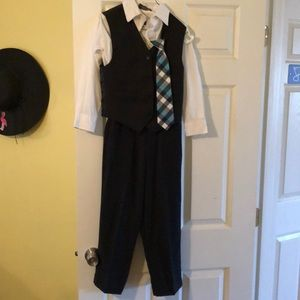 Other - Dressy vest, shirt, pants and tie